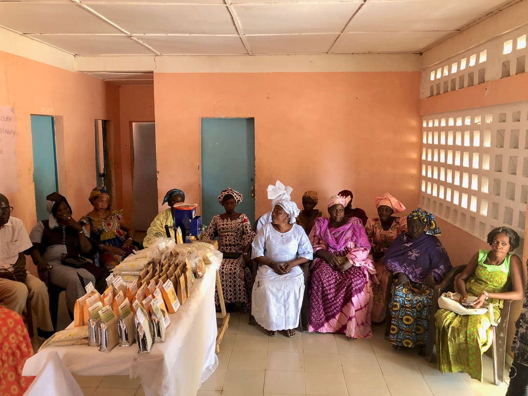 Women's Group in Senegal