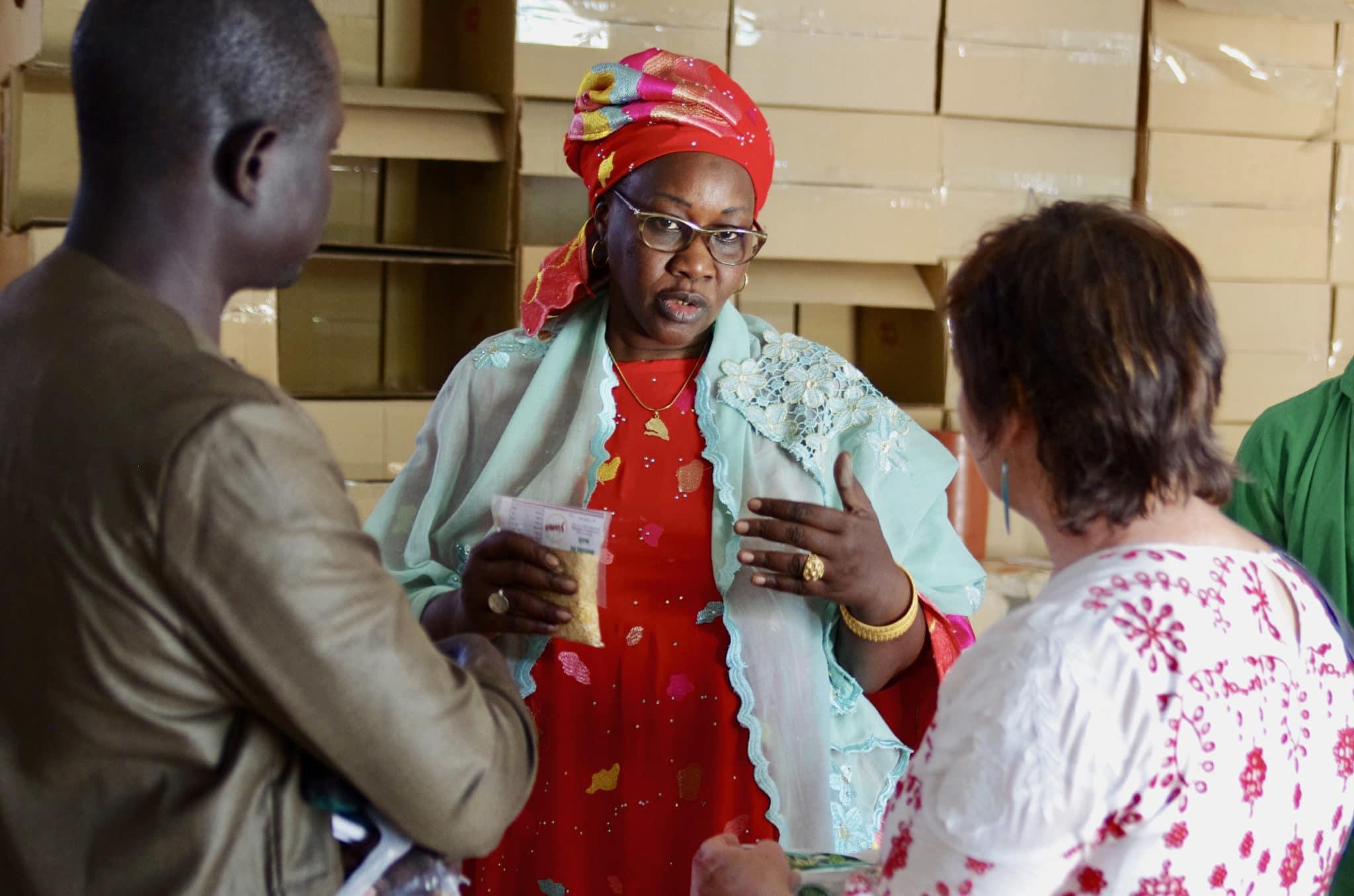 Conversation with food-based entrepreneur in Senegal
