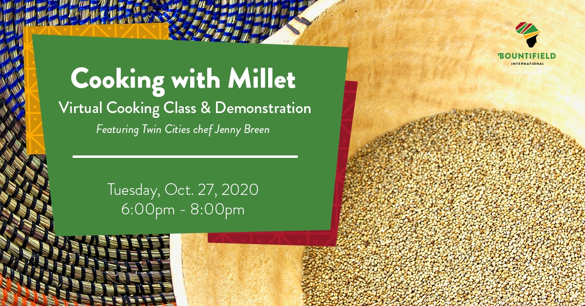 TWR Millet Cooking Event Graphic